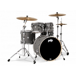 PDP by DW Concept Maple CM5 Standard Pewter + Set Hardware