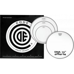 """Code Pack DNA Clear Fusion + 14"""" DNA Coated"""