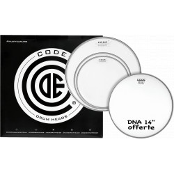 """Code Pack DNA Clear Standard + 14"""" DNA Coated"""