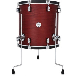 """PDP by DW Concept Classic 18x16""""  Ox Blood Stain"""