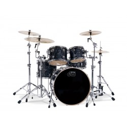 DW DRUMS Bateria Performance Series PK122 Black Diamond