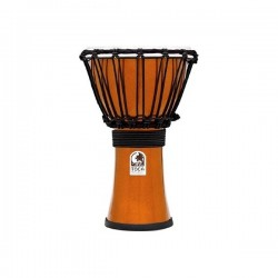 "Toca TFCDJ-7MO Djembe 7"" Freestyle Colorsound Metallic Orange"