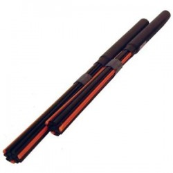 Flix Rods Black Orange Sticks