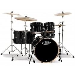 PDP by DW Concept Maple CM6 Pearlescent Black