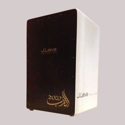 Leiva Percussion Cajon Zoco 2.0 White